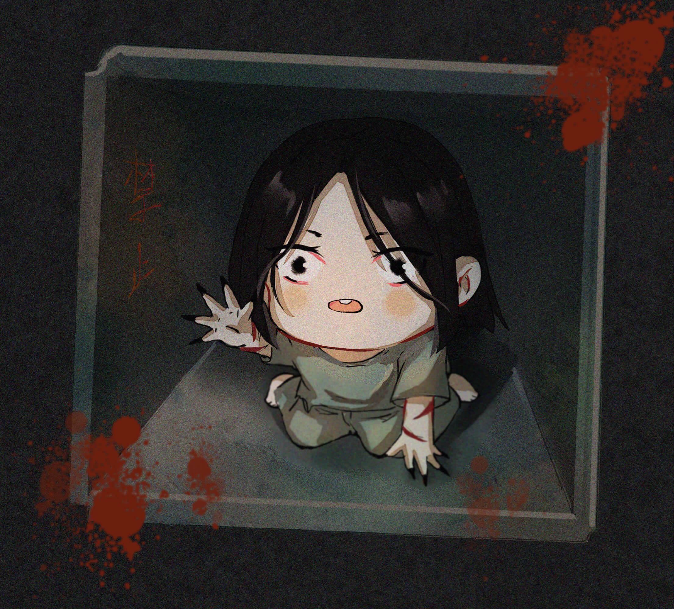 【同人插画】《重启之极海听雷》 朱一龙 q版 同人插画-第1张