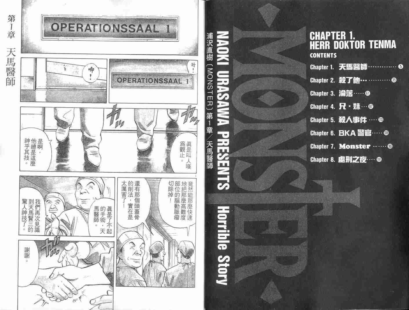 【漫画下载】【MONSTER】日漫全集--浦泽直树 动漫下载-第1张